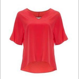 3.1 Philip Lim Bright Deep Pink Blouse